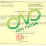 Thủ tục làm giấy chứng nhận lưu hành tự do cfs