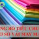Công bố tiêu chuẩn cơ sở vải may mặc