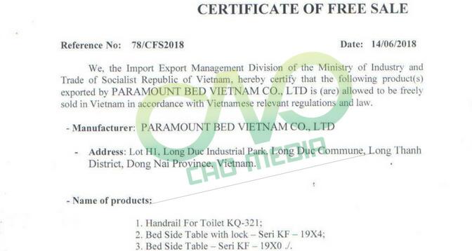 Đăng ký giấy phép lưu hành tự do mỹ phẩm giá rẻ