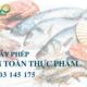 Đăng ký giấy phép an toàn thực phẩm cơ sở chế biến hải sản