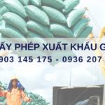 Dịch vụ làm giấy phép lưu hành tự do xuất khẩu gạo