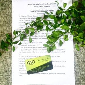 Tự công bố tiêu chuẩn sản phẩm trà ô long