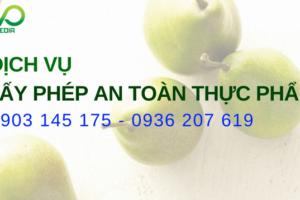 Dịch vụ tư vấn giấy phép vệ sinh an toàn thực phẩm chuyên nghiệp