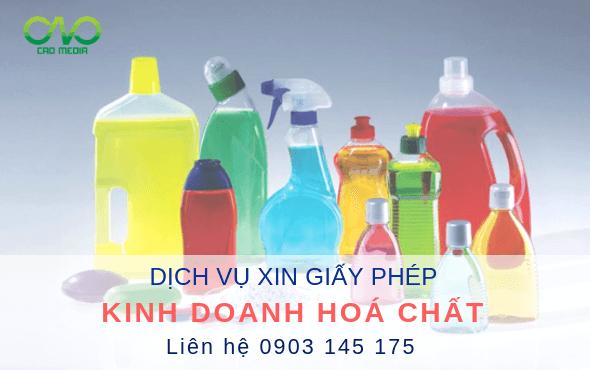 Xin giấy phép kinh doanh hoá chất cần những thủ tục nào