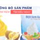 Tự công bố tiêu chuẩn sản phẩm bột làm kem nhanh chóng