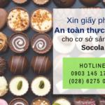 Điều kiện xin giấy chứng nhận an toàn thực phẩm cơ sở sản xuất kẹo socola