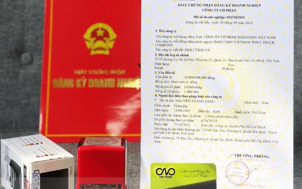 Thành lập giấy phép đăng ký kinh doanh