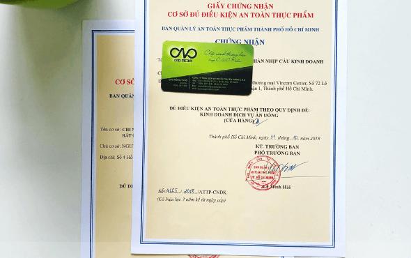 Thành lập giấy phép đăng ký kinh doanh cho quán trà sữa