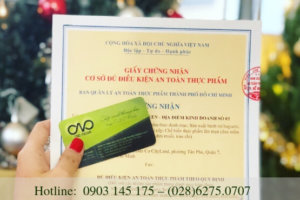 Quy định xin giấy chứng nhận an toàn thực phẩm cho quán rượu