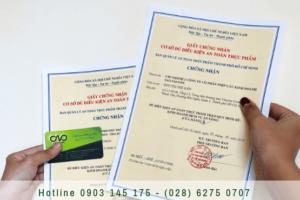 Xin giấy chứng nhận an toàn thực phẩm cho quán ăn trong vincom