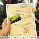 Xin giấy chứng nhận an toàn thực phẩm cơ sở sản xuất thực phẩm