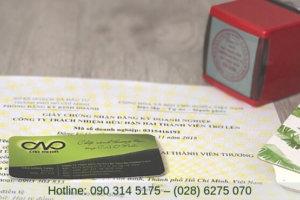 Hướng dẫn xin giấy phép đăng ký kinh doanh dịch vụ ăn uống