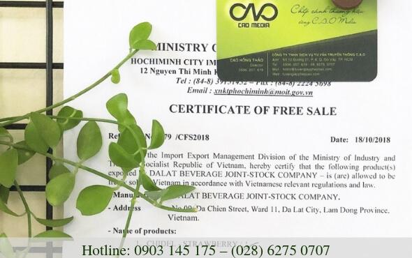 Những loại giấy phép cần thiết khi lưu hành sản phẩm tự do xuất khẩu hàng hóa