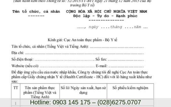 Dịch vụ làm giấy chứng nhận y tế tại TP. Hồ Chí Minh