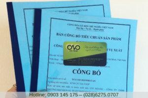 Thủ tục công bố chất lượng sản phẩm yến sào