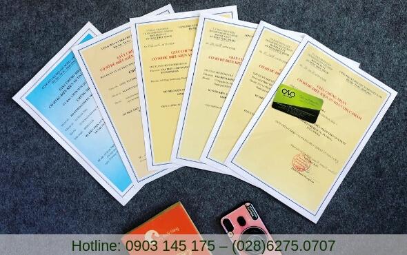 Dịch vụ tư vấn giấy chứng nhận đủ điều kiện an toàn thực phẩm uy tín