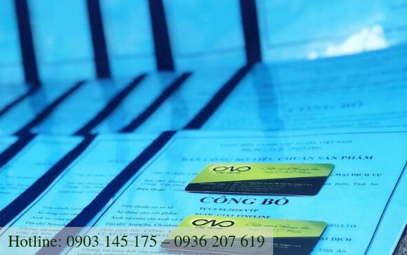 Thủ tục công bố chất lượng sản phẩm cần những điều kiện gì?