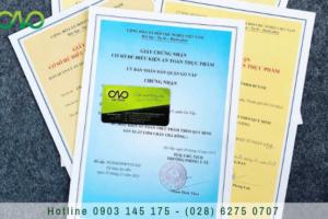 Quy trình xin giấy chứng nhận an toàn thực phẩm cơ sở sản xuất nhỏ lẻ