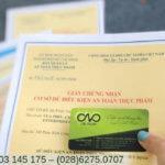 Quy định cấp giấy chứng nhận an toàn thực phẩm mới nhất 2019