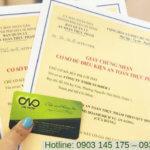 Quy định xin giấy chứng nhận an toàn thực phẩm do Bộ Y Tế cấp