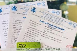 Tư vấn kiểm nghiệm và công bố chất lượng sản phẩm tại C.A.O