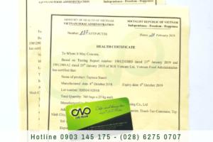 Dịch vụ làm health certificate nhanh nhất tại tphcm