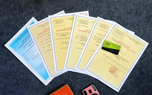 giấy chứng nhận cơ sở đủ điều kiện an toàn thực phẩm cho căn tin