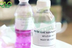 Kiểm nghiệm và công bố sản phẩm nước lau sàn