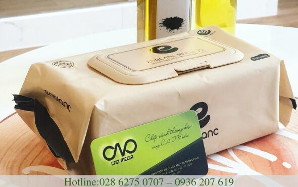 Công bố sản phẩm khăn giấy ướt nhập khẩu Hàn Quốc