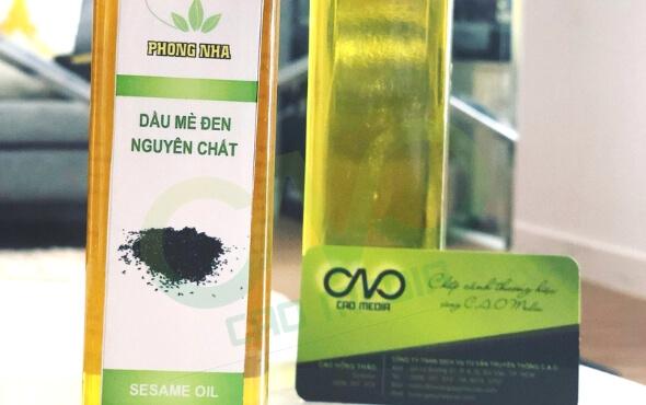 Tự công bố sản phẩm dầu mè đen nguyên chất tại C.A.O