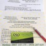 Thủ tục cấp giấy chứng nhận đăng ký doanh nghiệp công ty TNHH một thành viên