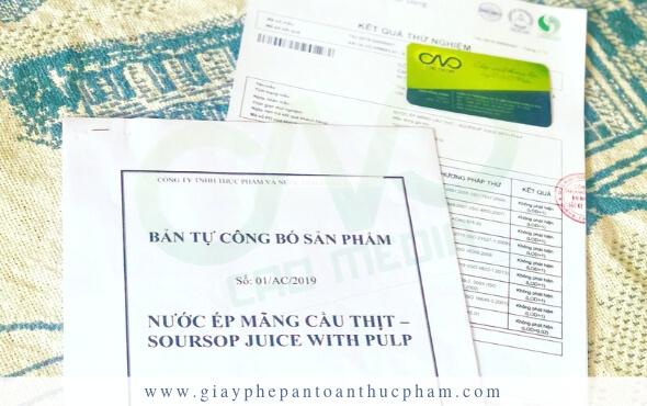 Xin giấy phép cho cơ sở sản xuất thực phẩm tại tphcm