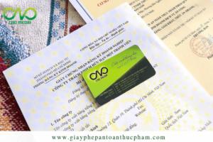 2 loại giấy chứng nhận kinh doanh dịch vụ ăn uống bắt buộc phải có