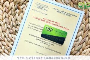 Dịch vụ xin giấy phép an toàn thực phẩm cho cửa hàng ăn uống quận 2