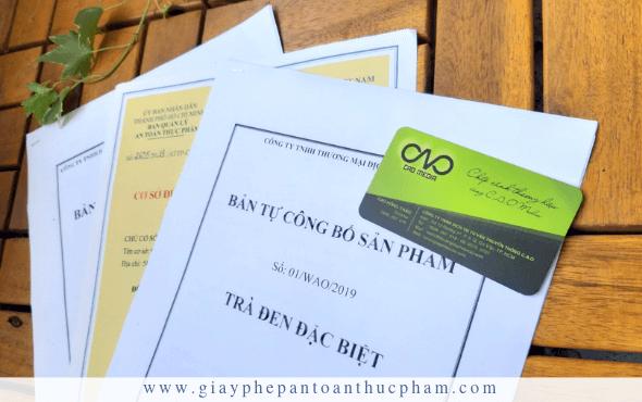 Những giấy phép cần có cho cơ sở sản xuất kinh doanh trà