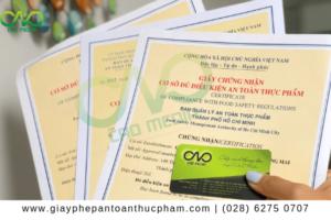 Hồ sơ đăng ký giấy chứng nhận cơ sở đủ điều kiện ATTP cho siêu thị