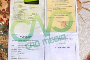 4 loại giấy chứng nhận cơ sở sản xuất cà phê bột bắt buộc phải có