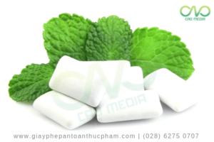 Thủ tục công bố sản phẩm kẹo cao su nhập khẩu