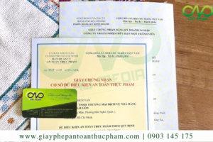 Dịch vụ làm giấy phép an toàn thực phẩm quán ăn quận 4