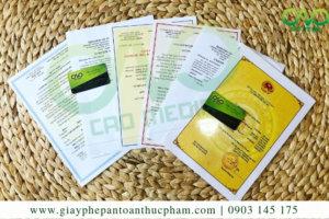 6 loại giấy phép xuất khẩu cà phê