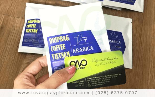Dịch vụ kiểm nghiệm sản phẩm cà phê tại C.A.O Media