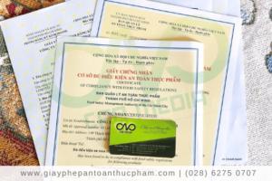 Xin giấy phép an toàn thực phẩm cho cơ sở chế biến hạt đậu