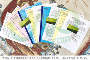 Những giấy phép cần có cho cơ sở sản xuất bột nêm gia vị