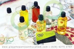 Dịch vụ công bố chất lượng tinh dầu tràm nhanh nhất