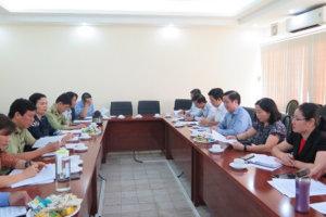 Tiếp đoàn kiểm tra liên ngành Trung ương về an toàn thực phẩm trong dịp tết Nguyên đán Canh tý và Lễ hội mùa xuân năm 2020