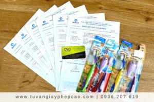 Dịch vụ công bố tiêu chuẩn bàn chải đánh răng trẻ em uy tín