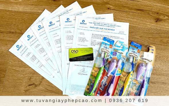 Dịch vụ công bố tiêu chuẩn bàn chải đánh răng trẻ em