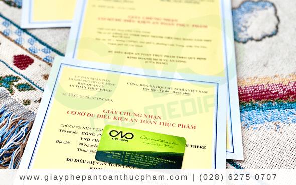 Quy trình xin giấy phép attp cho cơ sở sản xuất trà túi lọc