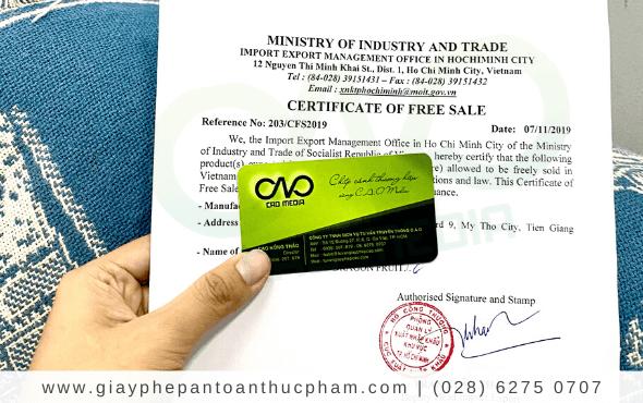 Đăng ký giấy phép lưu hành sản phẩm nước uống đóng chai
