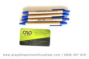 Thực hiện công bố tiêu chuẩn cơ sở bút bi giấy tái chế